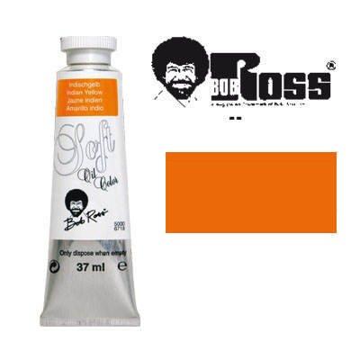 Bob Ross Tier-Soft-Ölmalfarben 37 ml Indischgelb [Spielzeug]