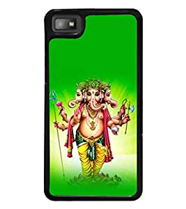 printtech Lord God Ganesha Back Case Cover for BlackBerry Z10