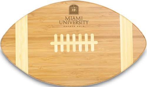 NCAA Miami Ohio Redhawks Touchdown! Bamboo Cutting Board, 16-Inch (Red Hawk Cheese compare prices)