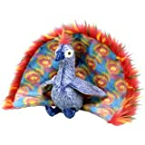 TY Flashy the Peacock Beanie Baby