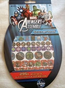 Marvel Avengers Assemble 295 Stickers