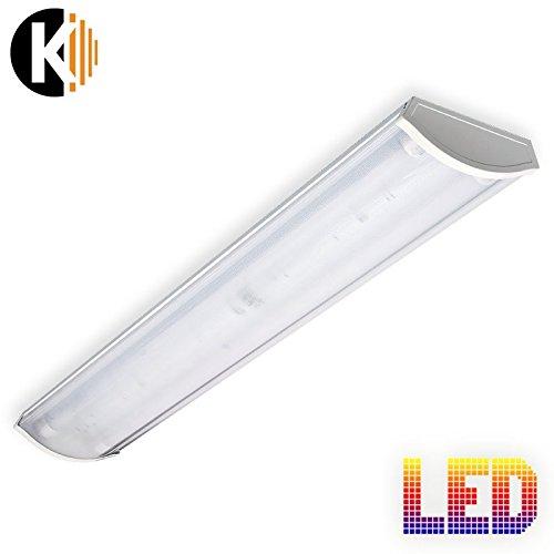 Lampe-VEGA-2x18W-LED-Wannenleuchte-IP20-Deckenleuchte-Broleuchte-Brolampe-Kellerleuchte-Garagenleuchte