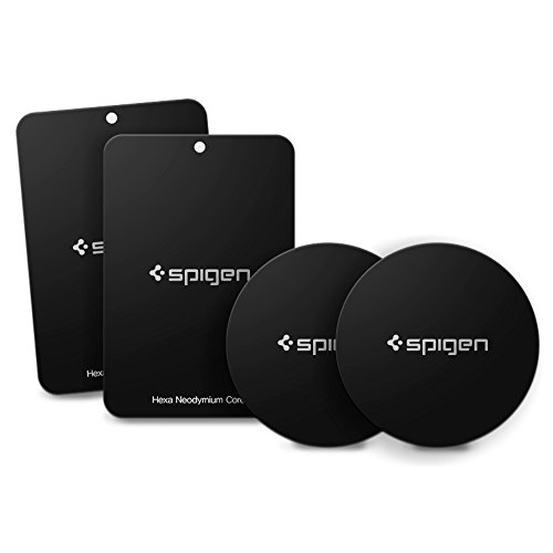 Spigen A210 Metal Plates 4 Pack for Magnetic Car Mount Air Vent / Magnetic Car Mount CD Slot / Magnetic Car Mount Dashboard (3m Double Sided Automotive compare prices)