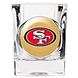 San Francisco 49ers 2 ounce Square Shot Glass