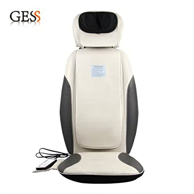 GESS19 Intelligent Shiatsu Shoulder Back Full Body Neck Hip Massage Massager Cushion with Heat For Car