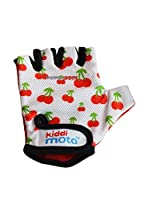 Kiddimoto Guantes Sport Cherry (Crema / Rojo)