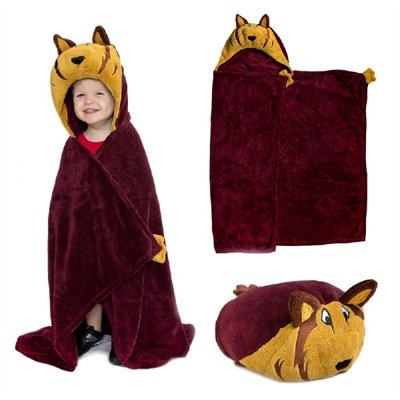 Texas A&M Aggies MascotWear Huggable Hooded Blanket