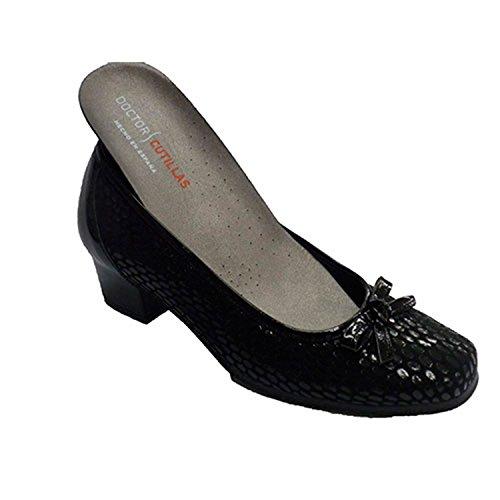 Le donne vestono tipo di scarpa manoletinas Lycra per plantari Doctor Cutillas nero taille 35