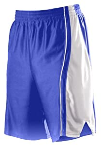 Buy Alleson 547P Adult Dazzle Basketball Shorts RO WH - ROYAL WHITE A2XL