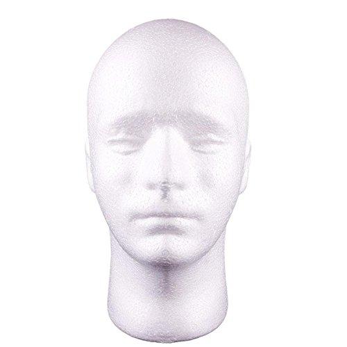 janedream-man-styrofoam-head-mask-stand-model-display-wig-hats-holder-foam-mannequin-white