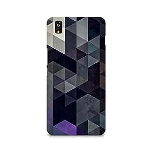TAZindia Designer Printed Hard Back Case Cover For One Plus X