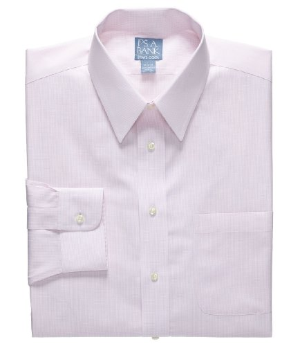 Buy cheap stays cool wrinkle free point collar gingham for Wrinkle free dress shirts amazon