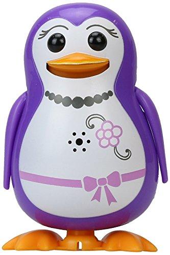 """SilverLit- Pinguino giocattolo """"Penny"""", serie DigiPenguin, con 55 melodie e suoni pre-caricati"""