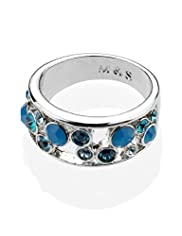 Autograph Bubble Ring MADE WITH SWAROVSKI® ELEMENTS
