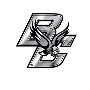 Buy NCAA Boston College Eagles Chrome Automobile Emblem by Team ProMark