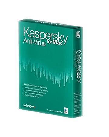 Kaspersky antivirus pour Mac 2010 (1 poste, 1 an)