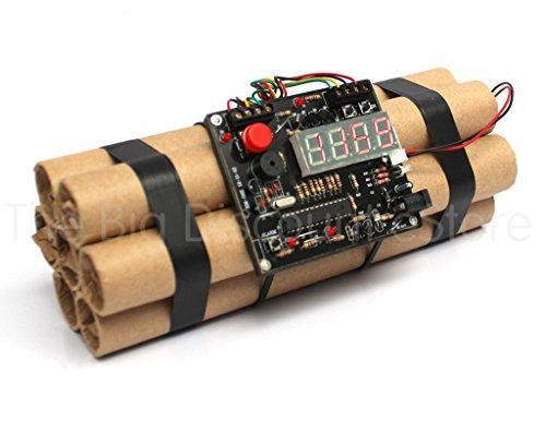 Eine Bombe zu entschärfen Wecker - Neuheit Dynamite Styled Digital Clock