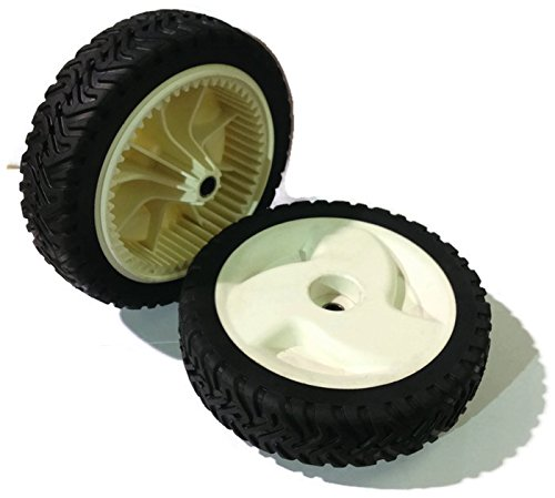 Wheels for Front drive 22″ Recycler Toro Lawnmower 8″ 105-1815 (Set of 2)