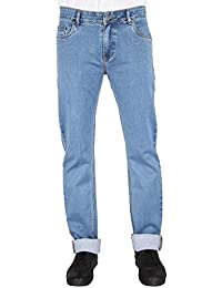 Flags Light Blue Stretch Slim Fit Men's Jeans