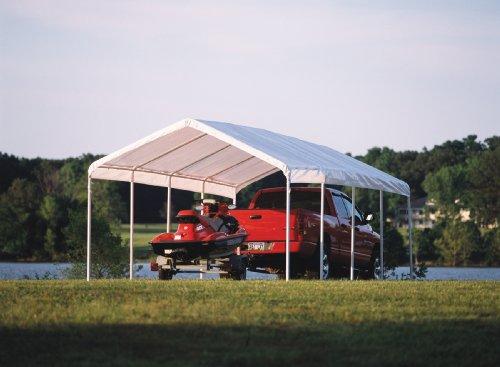 ShelterLogic 12 x 26- Feet Canopy 2- Inch 5-Rib