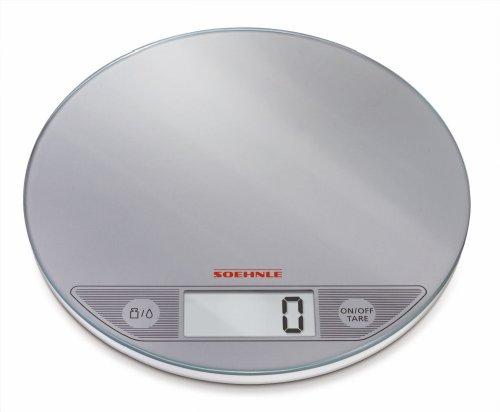 Soehnle 6208314 Balance Electronique Flip Silver 5 Kg / 1 g