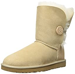 UGG Australia Bailey Button Ladies Boots - Sand Size 8