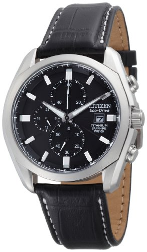 Citizen Men's CA0020-05E Eco Drive Strap Watch