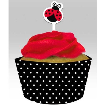 Baby Shower Ladybug Theme back-769576