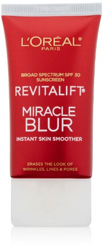 L'Oreal Paris Revitalift ミラクル インスタント スキンスムーサー Miracle Blur Instant Skin Smoother Finishing Cream, 1.18 fl oz