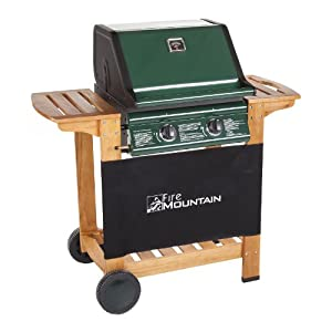 Fire Mountain 2 Burner Elbrus Gas Barbecue BBQ