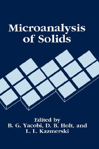 Microanalysis Of Solids