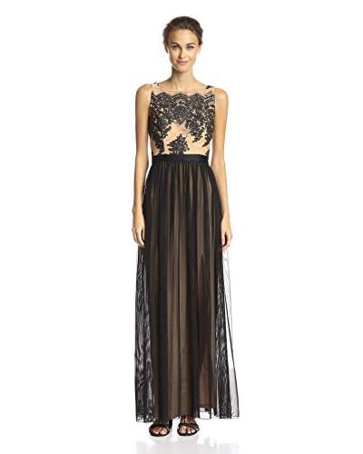 A.B.S. by Allen Schwartz Women's Lace Bodice Gown