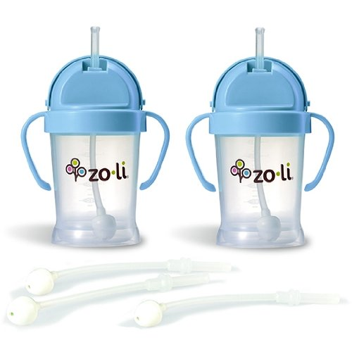 Straw Cup With Handles front-530424