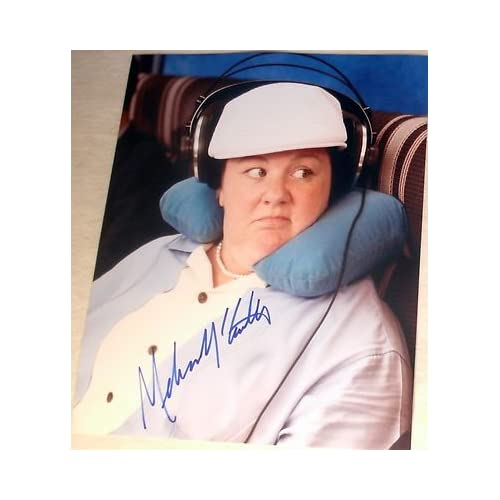 """Melissa Mccarthy Signed Autograph """"bridesmaids"""" Funny Airplane 8x10"""