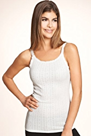 Scoop Neck Thermal Camisole