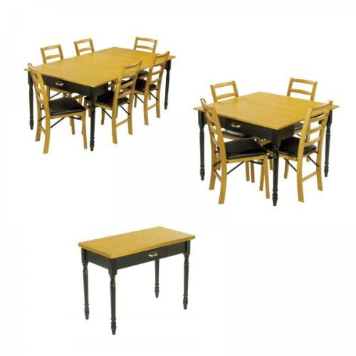 Furniture Dining Room Furniture Table Expandable Console Dinin