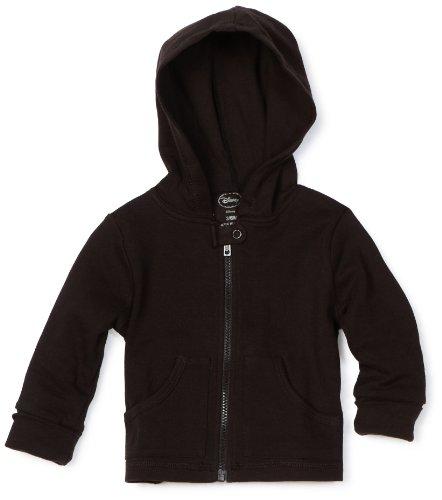 Disney Baby-Boys Newborn Hooded Jacket, Black,