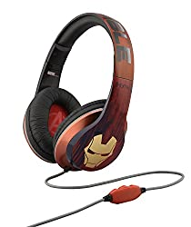 eKids Vi-M40IM Marvel Avengers Over the Ear Headphones with Volume Control, by iHome