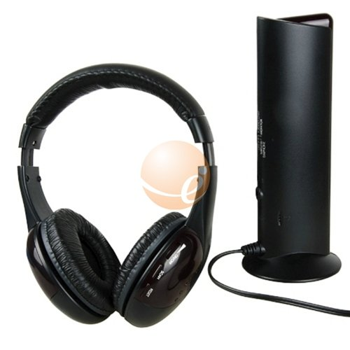 5-In-1 Headphone Headset Wireless With Mic For Laptop Mp3 Tv