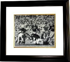 Jim Brown signed Syracuse Orange 16x20 Photo Custom Framed