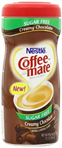 Coffee Mate Sugar Free Powdered Creamer, Chocolate, 10.2 - Ounce