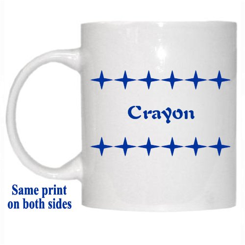 Names Of Crayons