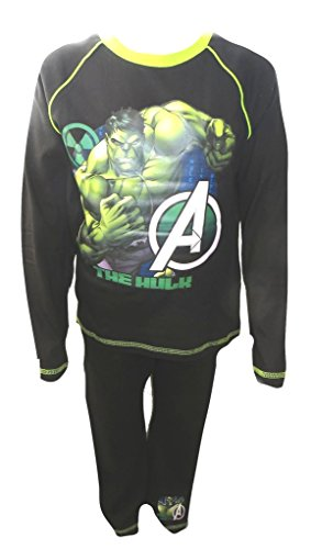 The Incredible Hulk Avengers Big Boy's Pyjamas Age 4-10 Years Available
