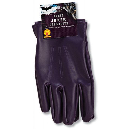 Batman Dark Knight The Joker Gloves Adult - One-Size - Accessories & Makeup