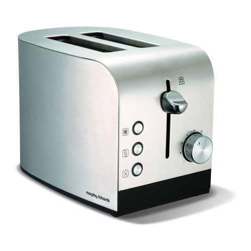 Morphy Richards Accents 44208 2 Slice Toaster - Stainless Steel