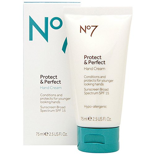 Boots No7 Protect &amp; Perfect Hand Cream SPF 15