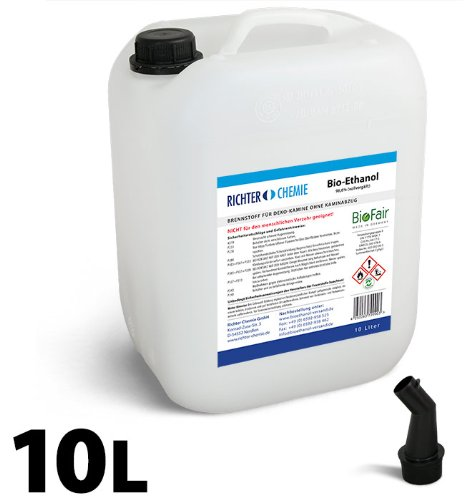 10L-Bioethanol-100-Markenprodukt-BioFair-geprfte-Laborqualitt-GRATIS-VERSAND