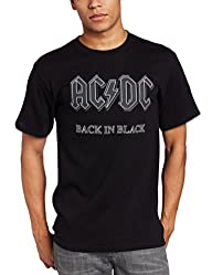 Impact Men's AC/DC Back In Black Shor…