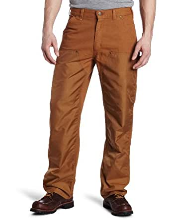 Carhartt Men's High Strength Nylon Double Front Dungaree,Brown (Closeout),40 x 28