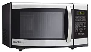 Danby DMW077BLSDD 0.7 cu. ft. Microwave Oven - Black with Stainless Steel at Sears.com